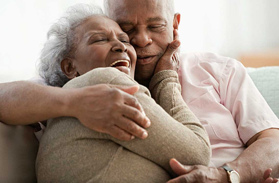Old Couple Black Love